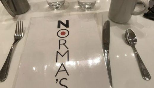 ニューヨークおすすめの朝食NORMA's(ノーマズ)をレポート|日本未上陸のパンケーキを堪能