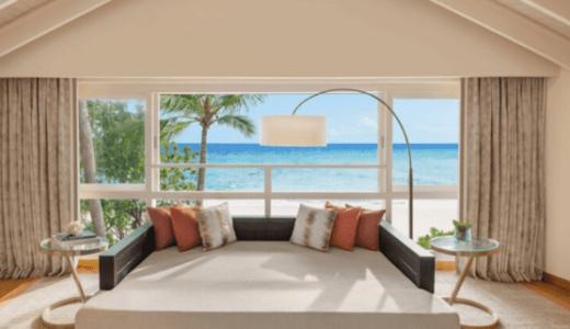 JWマリオット・モルディブ・リゾート&スパ|デュプレックスビーチヴィラ