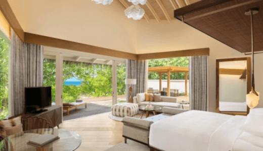 JWマリオット・モルディブ・リゾート&スパ|ビーチヴィラサンライズ