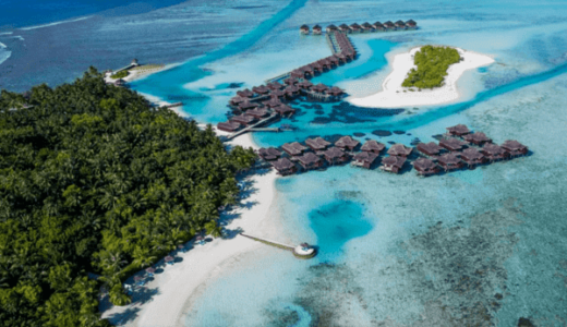 1460万円お得!?モルディブのリゾートホテル|2021年に宿泊し放題の大特価プランを発売